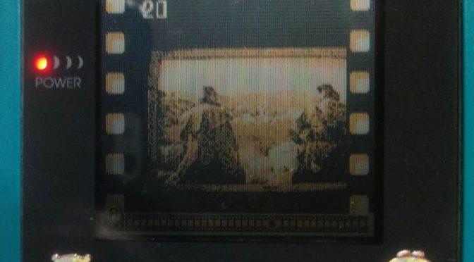 PS4のゲームをGBのポケットカメラで撮影した結果…