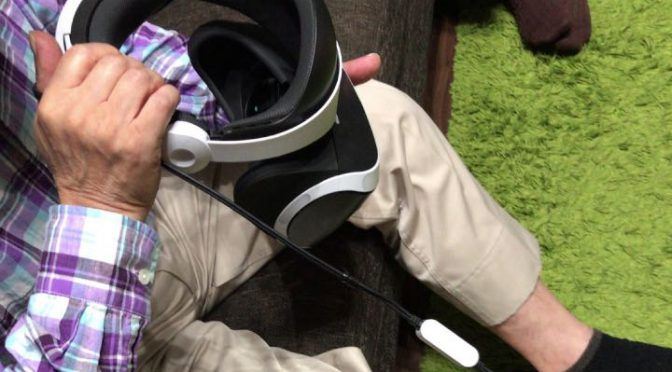 【シニア】75歳の義父母にplaystation VRを使ってみてもらった結果…【高齢者】