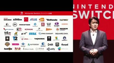 2017年1月13日「nintendo switch 」発表!視聴者の反応まとめ