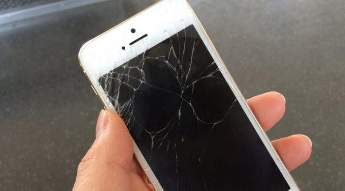 【iPhone】画面割れ!正規店持ち込み修理の流れと期間レポート(Softbank編)