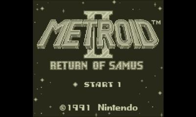【画像あり】オリジナルGB版「メトロイドⅡ RETURN OF SAMUS」はこんなゲーム