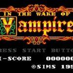 【画像あり】ゲームギアプレミア価格ソフト「IN THE WAKE OF VAMPIRE」はこんなゲーム