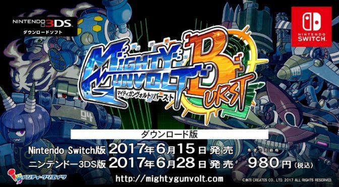 【3DS/Switch】ここが面白い!「マイティガンヴォルト バースト」インディーズ横スクロールアクション