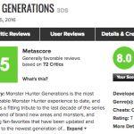メタスコアは?3DS「モンスターハンタークロス」海外プレイヤーの感想10選