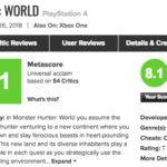 メタスコアは?PS4「モンスターハンターワールド」海外プレイヤーの感想10選