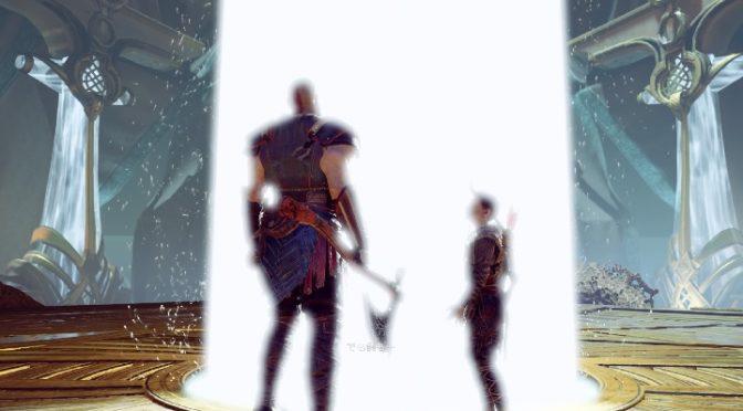PS4「ゴッド・オブ・ウォー」クリア後のプレイヤーと感想を話しました。
