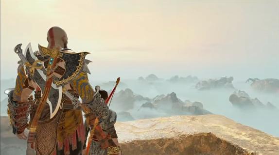 【画像あり】PS4「God of War」エンディング遺灰のシーンを大雑把に紹介する
