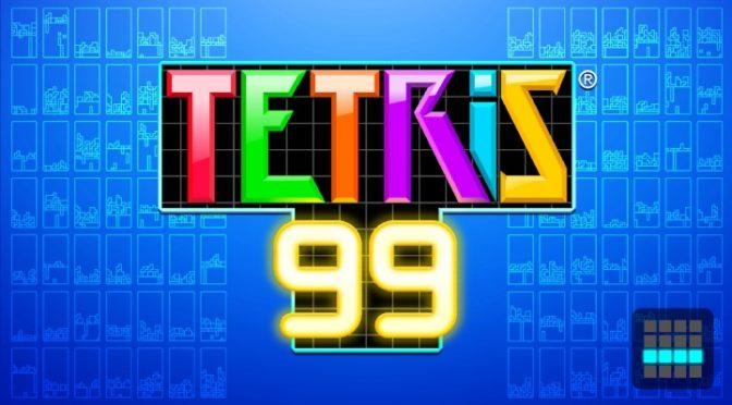 ニンテンドースイッチ「テトリス99」をプレイしてみた。1位獲得の難易度は?