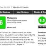 Switch版も発売「CUPHEAD(カップヘッド)」メタスコア、海外プレイヤーの感想は?