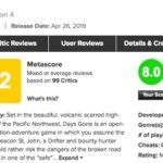 ゾンビゲー好き海外では高評価!PS4「DAYS GONE」メタスコア、ユーザースコアは?