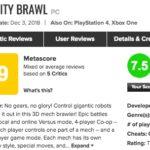 マルチが楽しい!PS4「オーバーライド 巨大メカ大乱闘」メタスコアは?