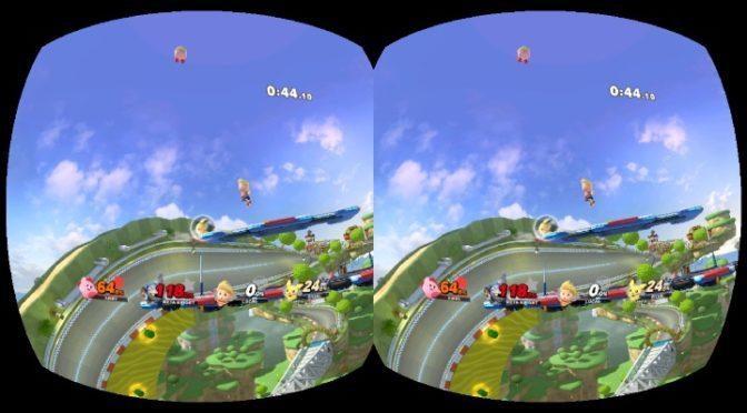 Switch「スマブラSP」VRモードを試してみた感想。見え方は?