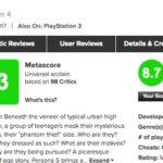 オリジナル版ペルソナ5が海外でも人気な理由は?Metacriticのユーザースコアはこちら。
