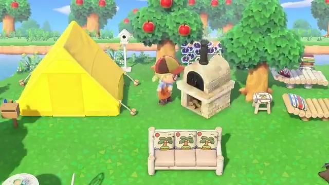 あつ森 テント 作り方