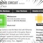 マリオカートライブホームサーキット 海外での評価、メタスコアはイマイチ…?